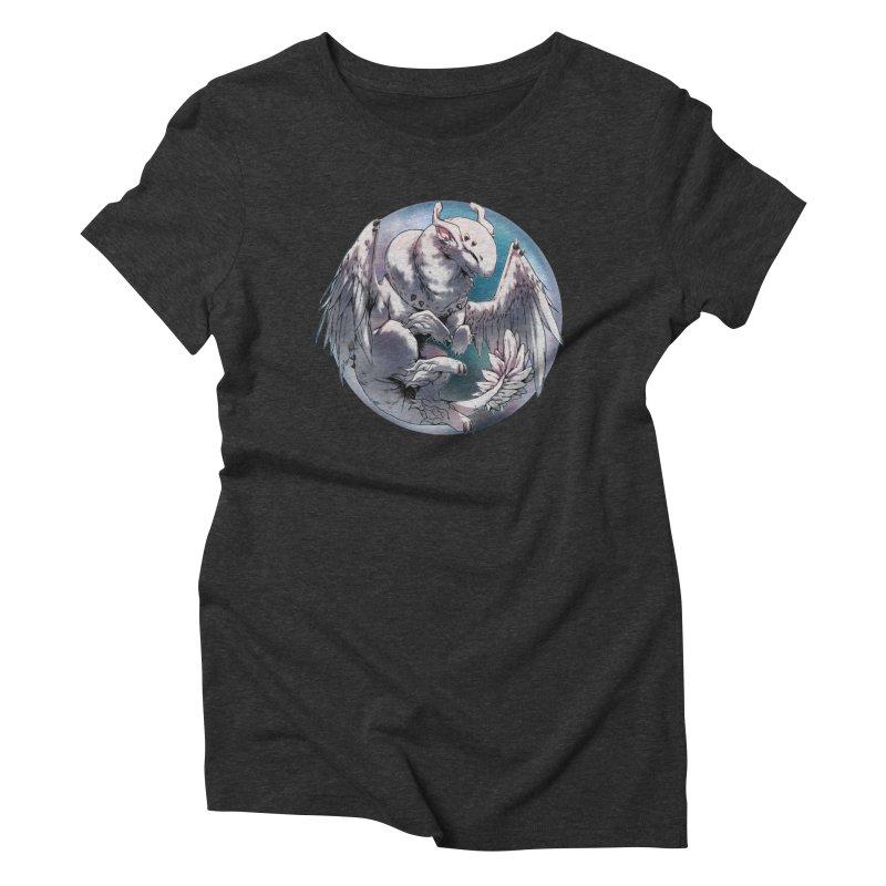 Fleeting Snow Snowglobe Women's Triblend T-Shirt by AdeptGamer's Merchandise