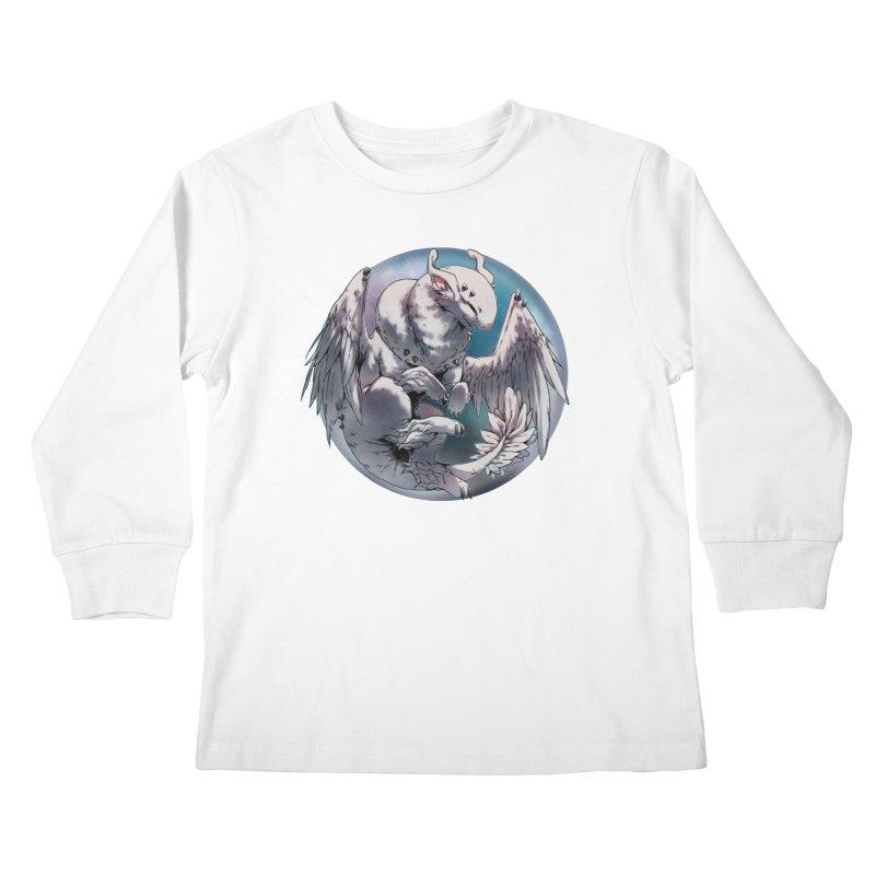 Fleeting Snow Snowglobe Kids Longsleeve T-Shirt by AdeptGamer's Merchandise