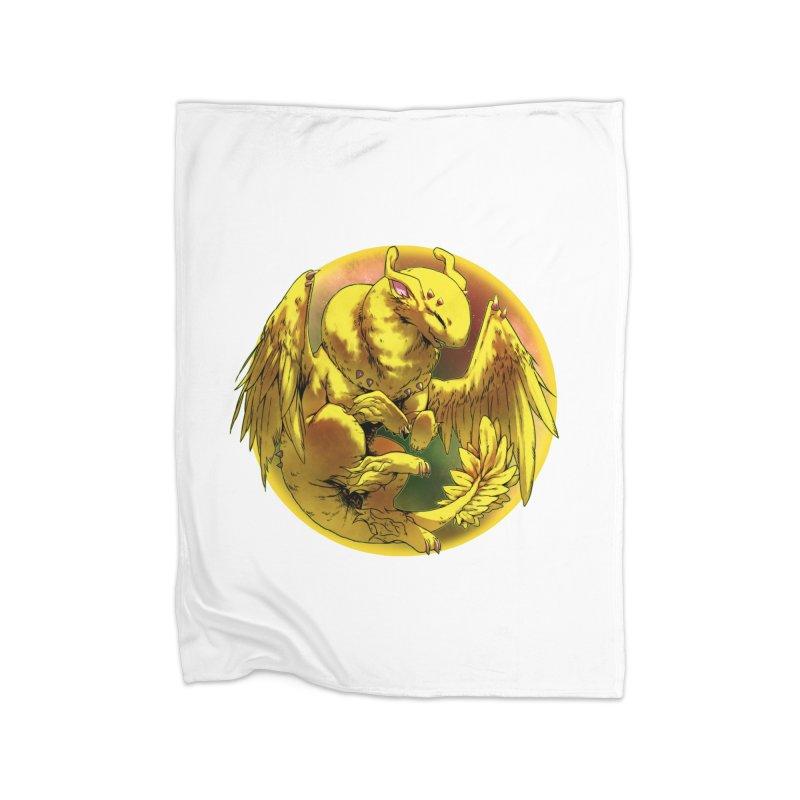 Lemon Drop Snowglobe Home Blanket by AdeptGamer's Merchandise