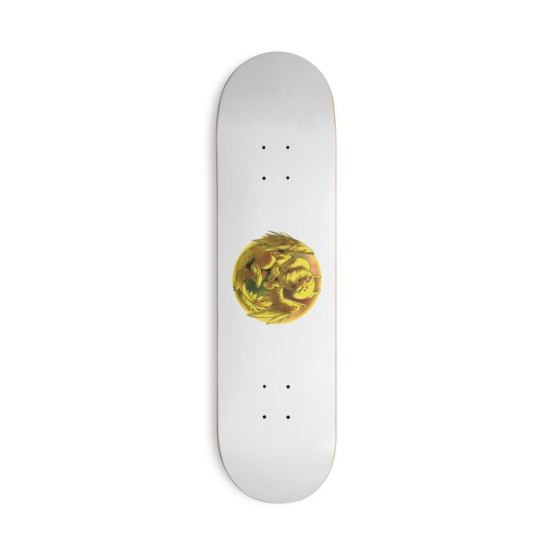 Lemon Drop Snowglobe Accessories Skateboard by AdeptGamer's Merchandise
