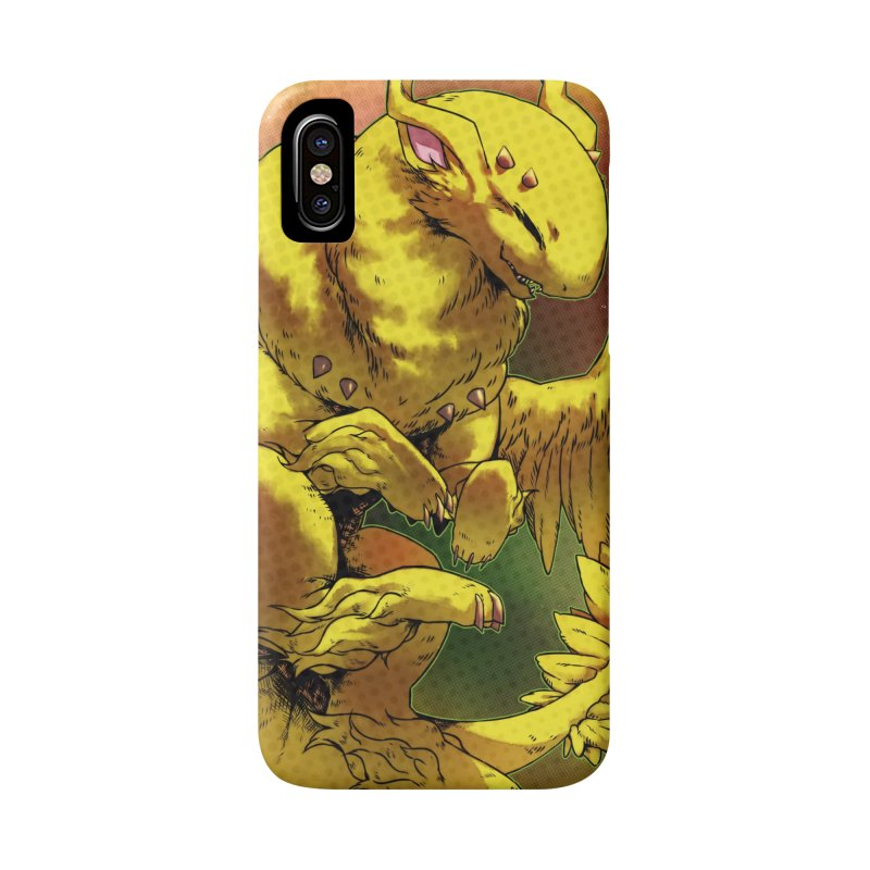 Lemon Drop Snowglobe Accessories Phone Case by AdeptGamer's Merchandise