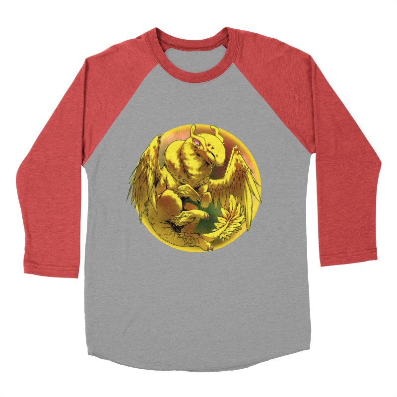 Lemon Drop Snowglobe Men's Baseball Triblend Longsleeve T-Shirt by AdeptGamer's Merchandise