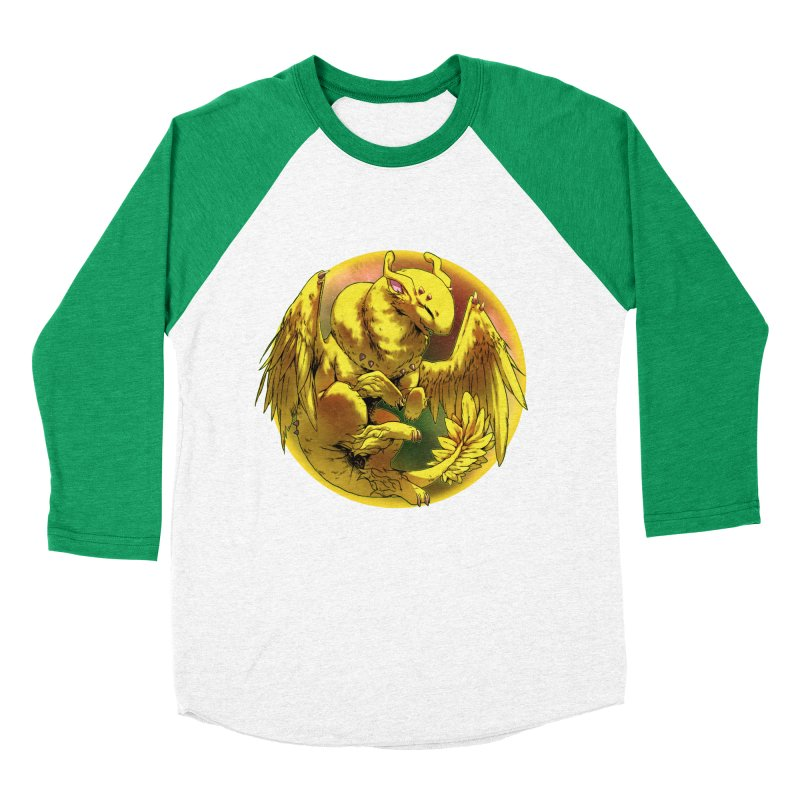 Lemon Drop Snowglobe Men's Baseball Triblend T-Shirt by AdeptGamer's Merchandise