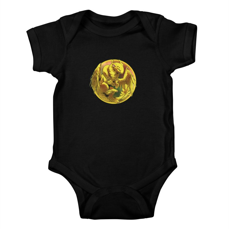 Lemon Drop Snowglobe Kids Baby Bodysuit by AdeptGamer's Merchandise
