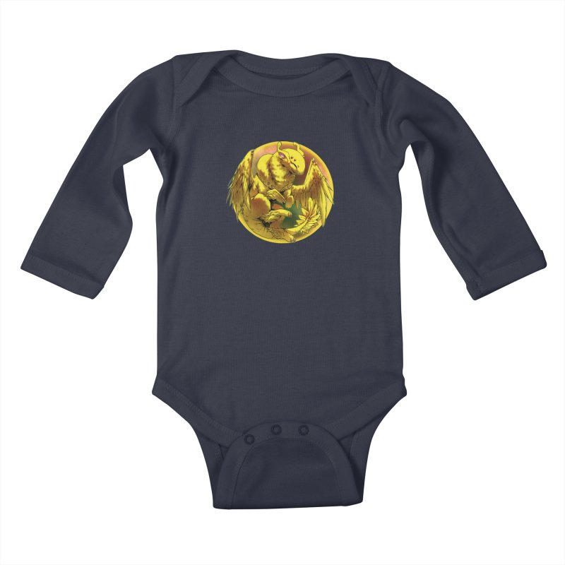 Lemon Drop Snowglobe Kids Baby Longsleeve Bodysuit by AdeptGamer's Merchandise
