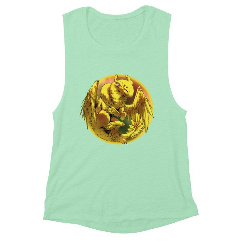 Lemon Drop Snowglobe Women's Muscle Tank by AdeptGamer's Merchandise