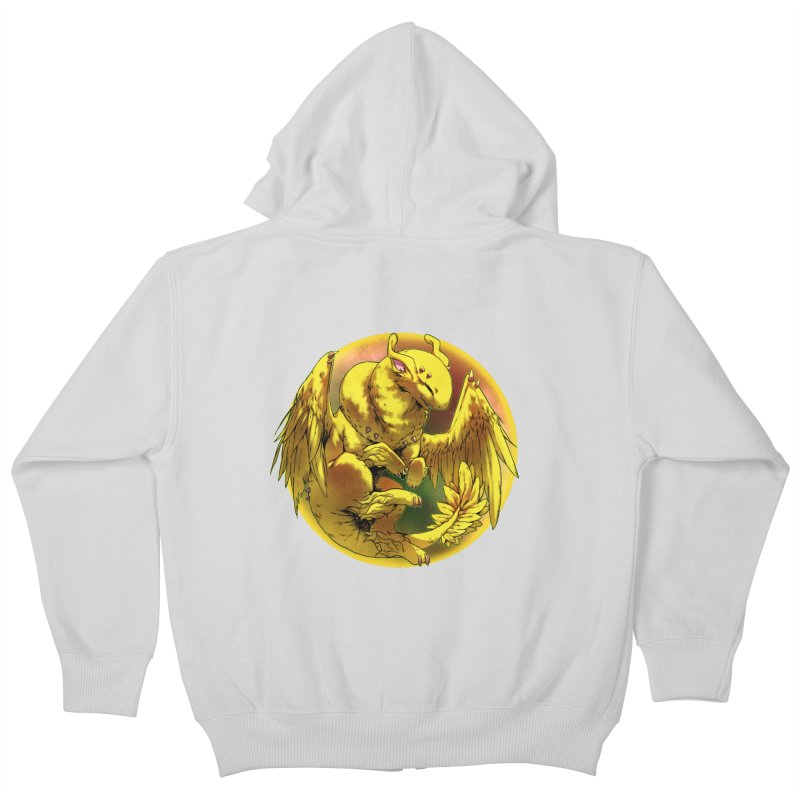 Lemon Drop Snowglobe Kids Zip-Up Hoody by AdeptGamer's Merchandise