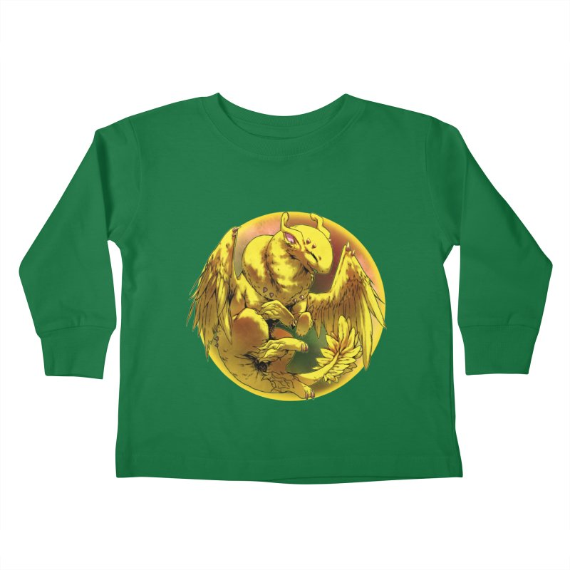 Lemon Drop Snowglobe Kids Toddler Longsleeve T-Shirt by AdeptGamer's Merchandise