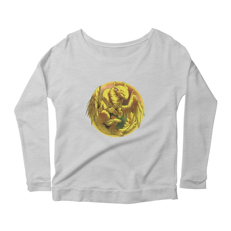 Lemon Drop Snowglobe Women's Scoop Neck Longsleeve T-Shirt by AdeptGamer's Merchandise