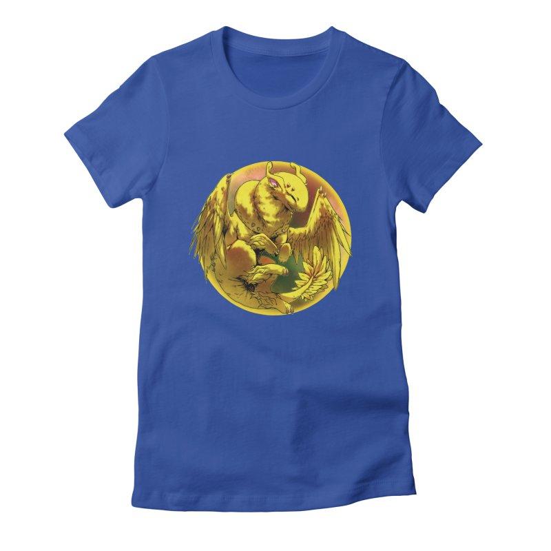 Lemon Drop Snowglobe Women's Fitted T-Shirt by AdeptGamer's Merchandise