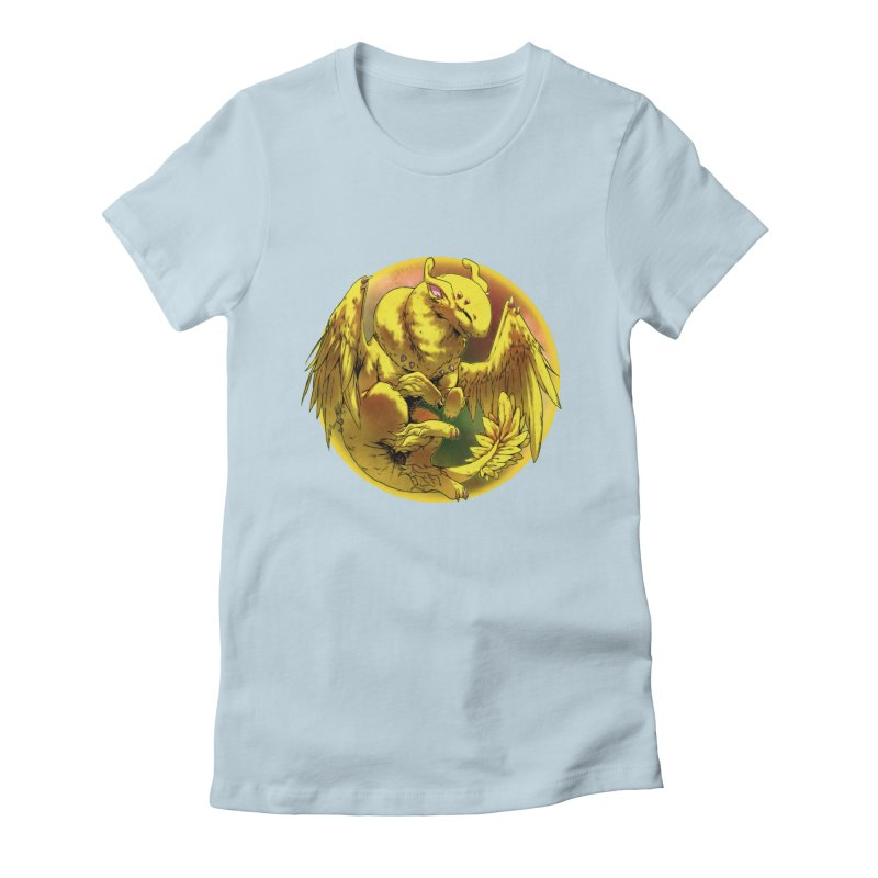 Lemon Drop Snowglobe Women's Fitted T-Shirt by AdeptGamer's Merchandise