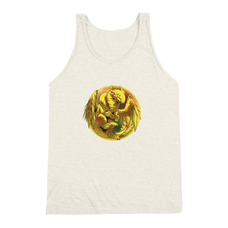 Lemon Drop Snowglobe Men's Triblend Tank by AdeptGamer's Merchandise