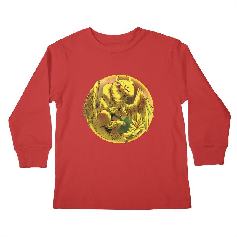 Lemon Drop Snowglobe Kids Longsleeve T-Shirt by AdeptGamer's Merchandise
