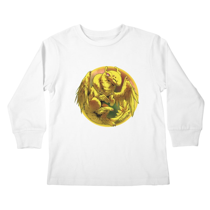 Lemon Drop Snowglobe Kids Longsleeve T-Shirt by AdeptGamer's Merchandise