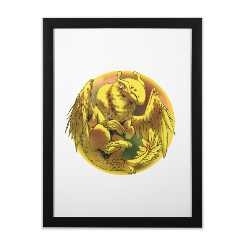 Lemon Drop Snowglobe Home Framed Fine Art Print by AdeptGamer's Merchandise