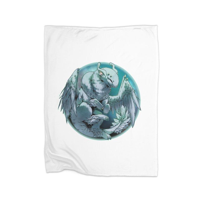 Spearmint Snowglobe Home Blanket by AdeptGamer's Merchandise
