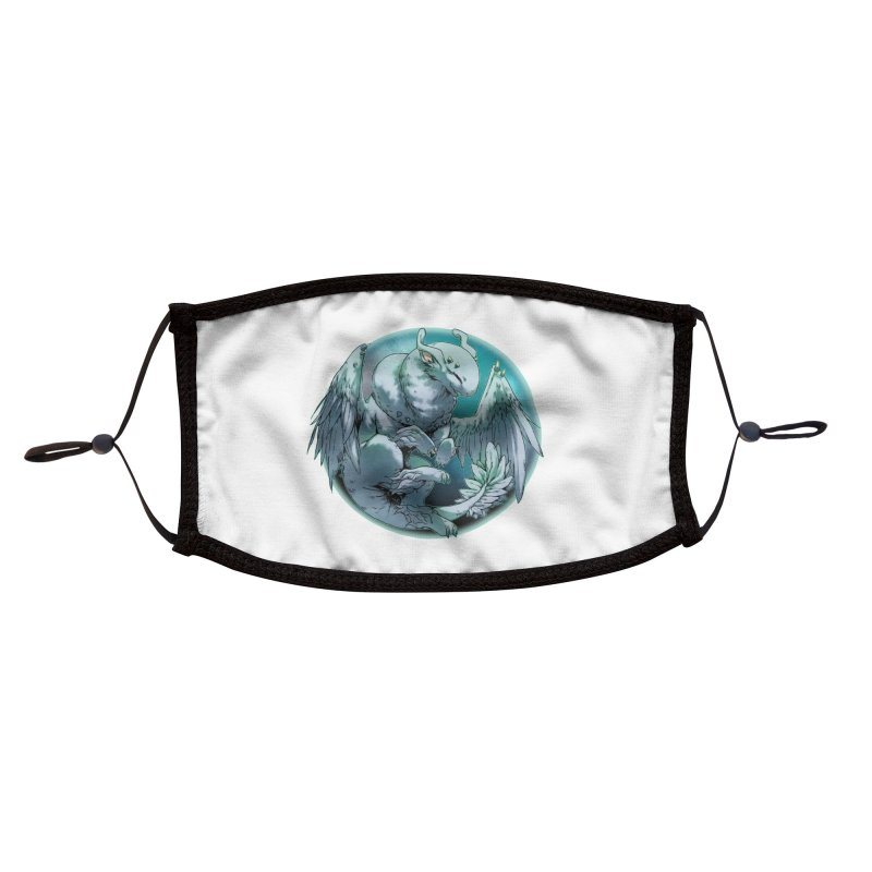 Spearmint Snowglobe Accessories Face Mask by AdeptGamer's Merchandise