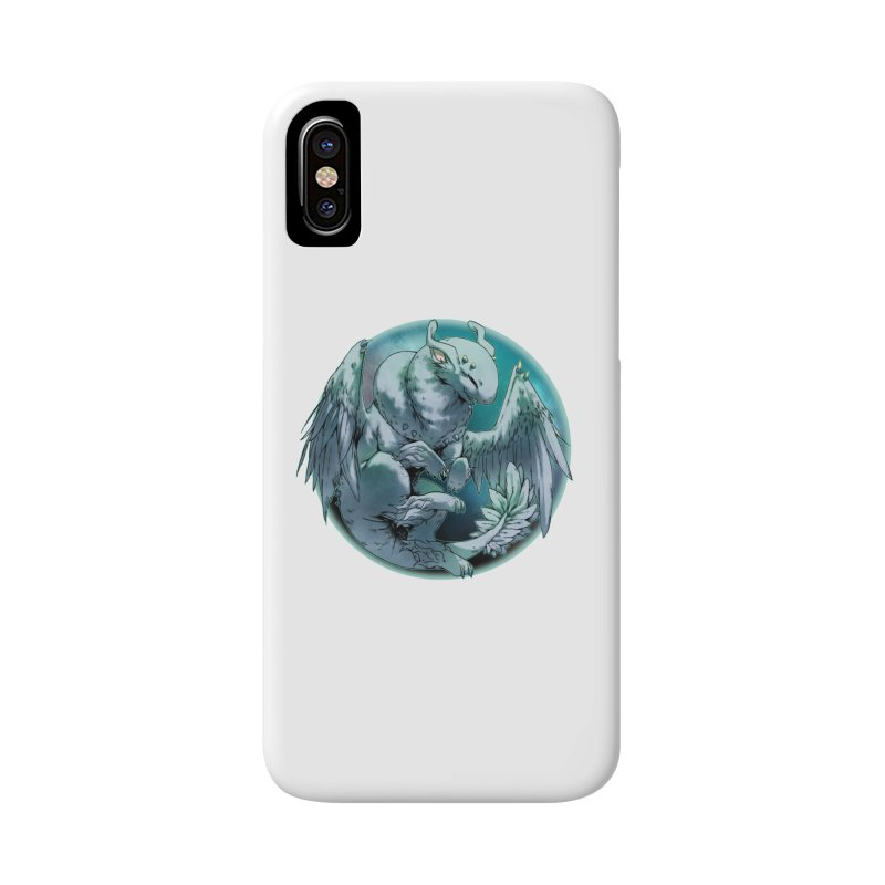 Spearmint Snowglobe Accessories Phone Case by AdeptGamer's Merchandise