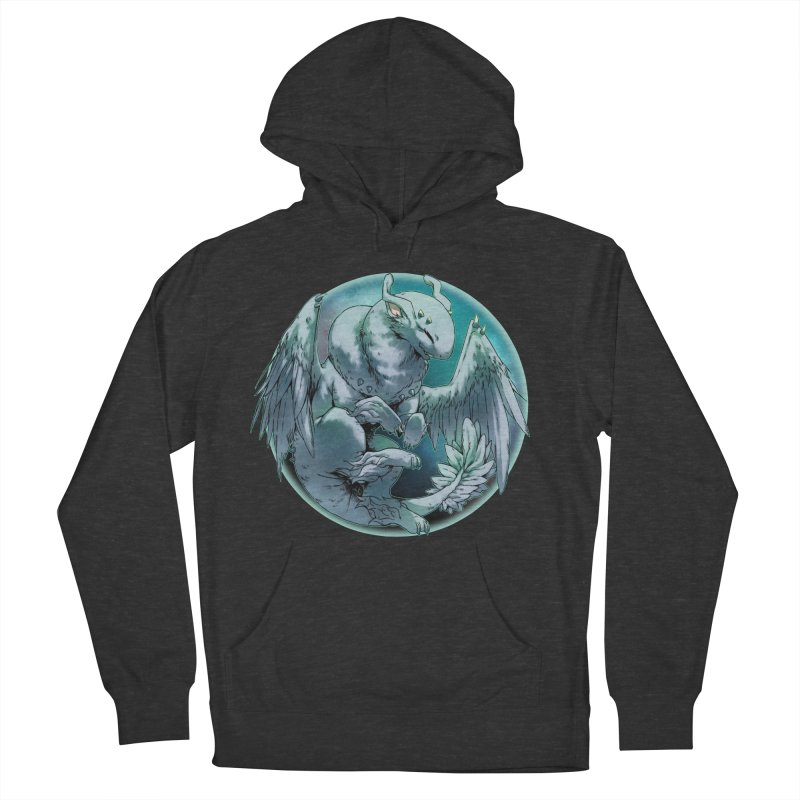 Spearmint Snowglobe Men's French Terry Pullover Hoody by AdeptGamer's Merchandise