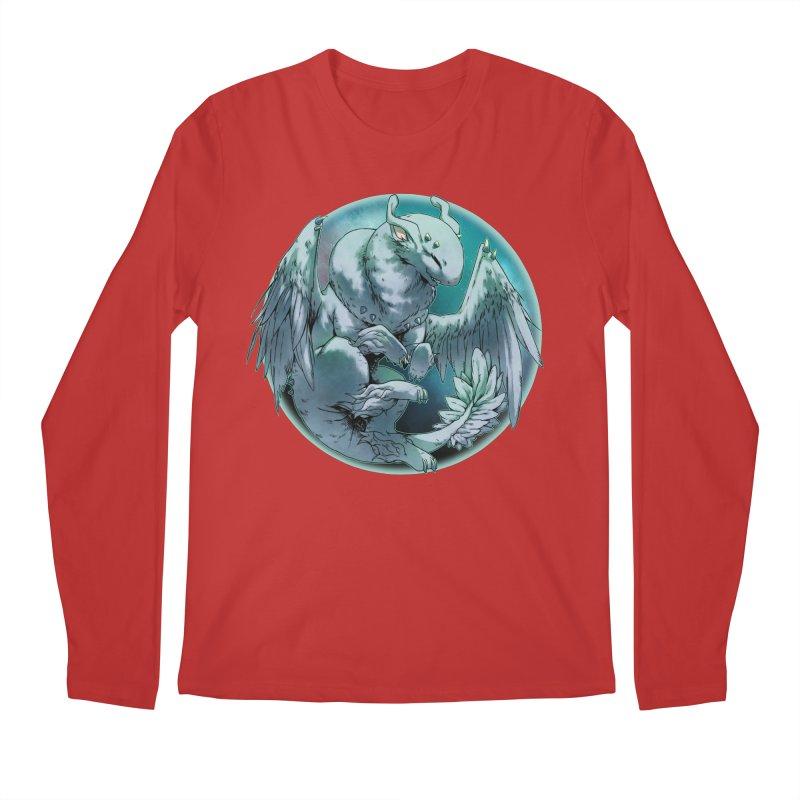 Spearmint Snowglobe Men's Regular Longsleeve T-Shirt by AdeptGamer's Merchandise