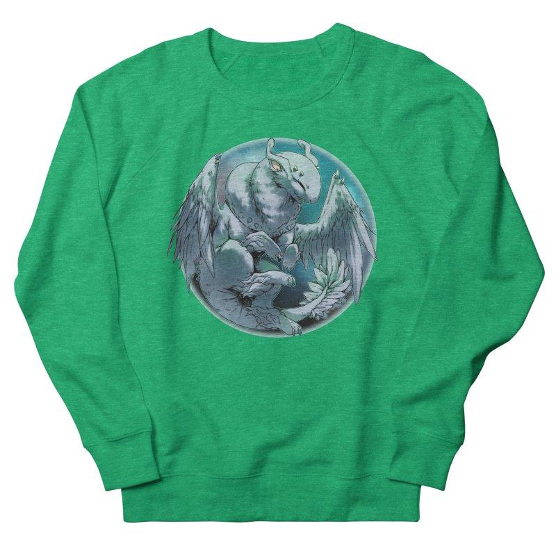 Spearmint Snowglobe Men's French Terry Sweatshirt by AdeptGamer's Merchandise