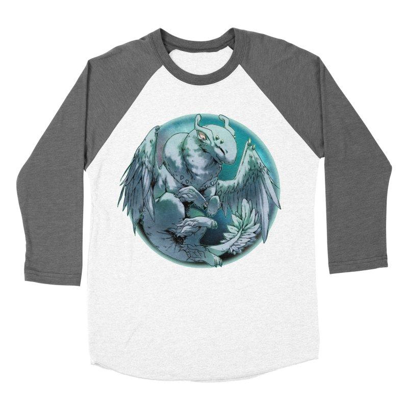Spearmint Snowglobe Women's Baseball Triblend T-Shirt by AdeptGamer's Merchandise