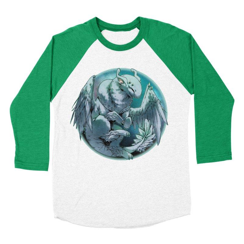 Spearmint Snowglobe Women's Baseball Triblend Longsleeve T-Shirt by AdeptGamer's Merchandise