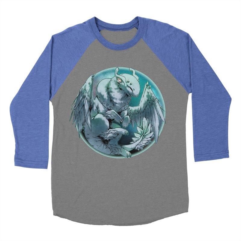 Spearmint Snowglobe Men's Baseball Triblend Longsleeve T-Shirt by AdeptGamer's Merchandise