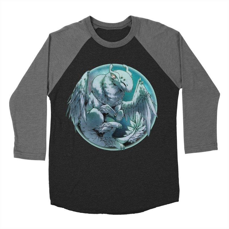 Spearmint Snowglobe Men's Baseball Triblend T-Shirt by AdeptGamer's Merchandise