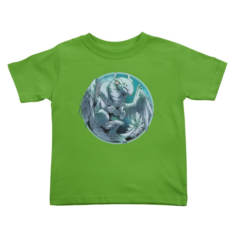 Spearmint Snowglobe Kids Toddler T-Shirt by AdeptGamer's Merchandise