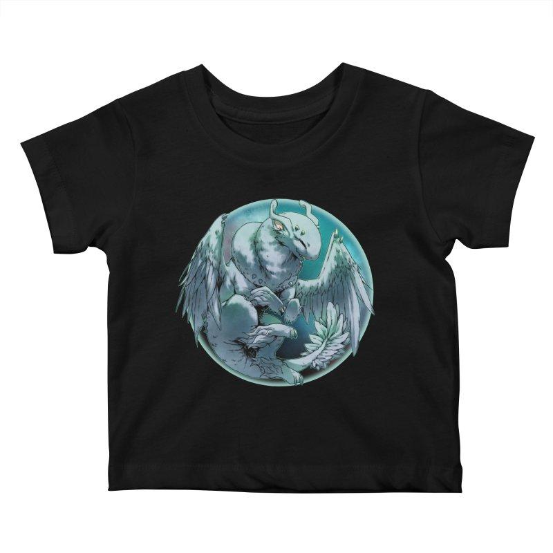 Spearmint Snowglobe Kids Baby T-Shirt by AdeptGamer's Merchandise