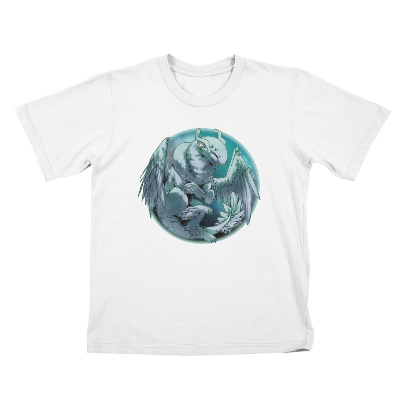 Spearmint Snowglobe Kids T-Shirt by AdeptGamer's Merchandise