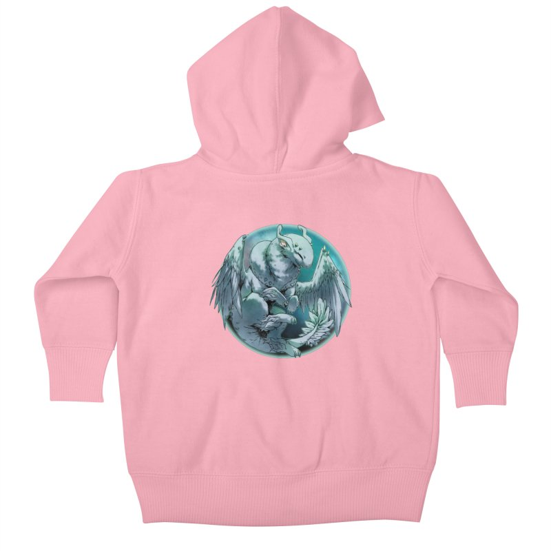 Spearmint Snowglobe Kids Baby Zip-Up Hoody by AdeptGamer's Merchandise