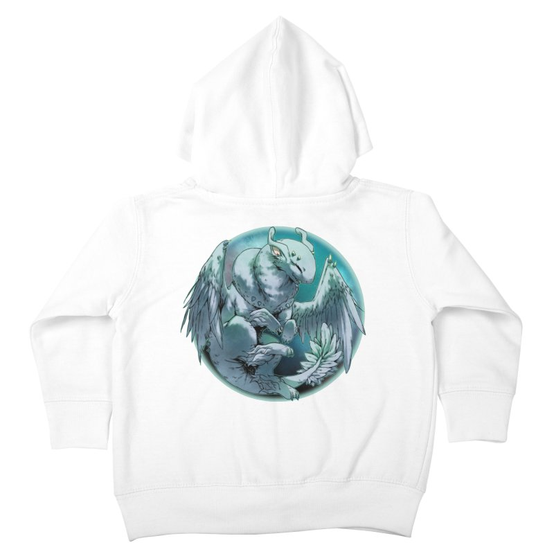 Spearmint Snowglobe Kids Toddler Zip-Up Hoody by AdeptGamer's Merchandise