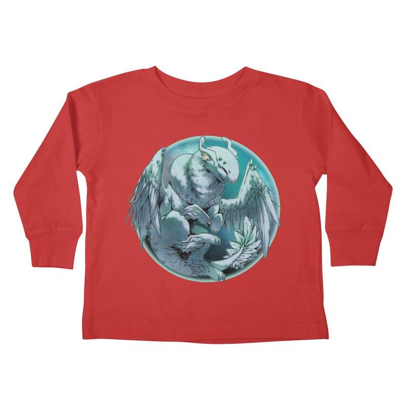Spearmint Snowglobe Kids Toddler Longsleeve T-Shirt by AdeptGamer's Merchandise