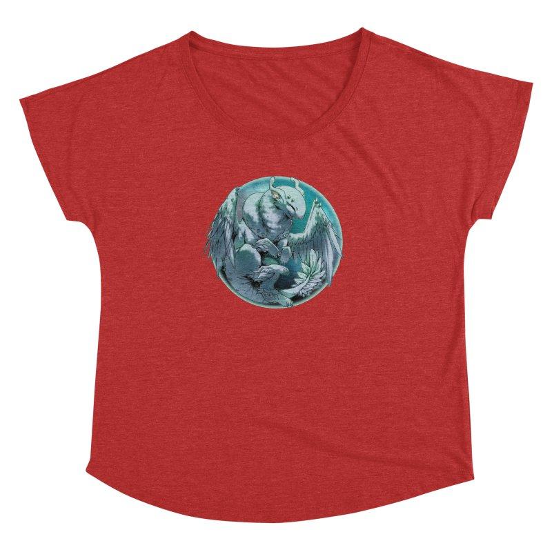 Spearmint Snowglobe Women's Dolman Scoop Neck by AdeptGamer's Merchandise