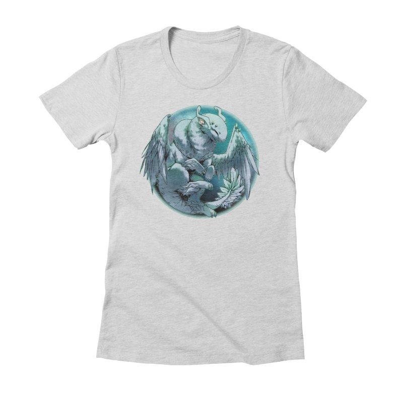 Spearmint Snowglobe Women's Fitted T-Shirt by AdeptGamer's Merchandise