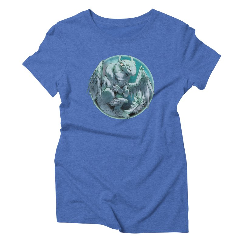 Spearmint Snowglobe Women's Triblend T-Shirt by AdeptGamer's Merchandise