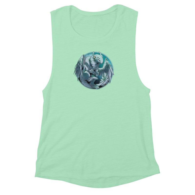 Spearmint Snowglobe Women's Muscle Tank by AdeptGamer's Merchandise