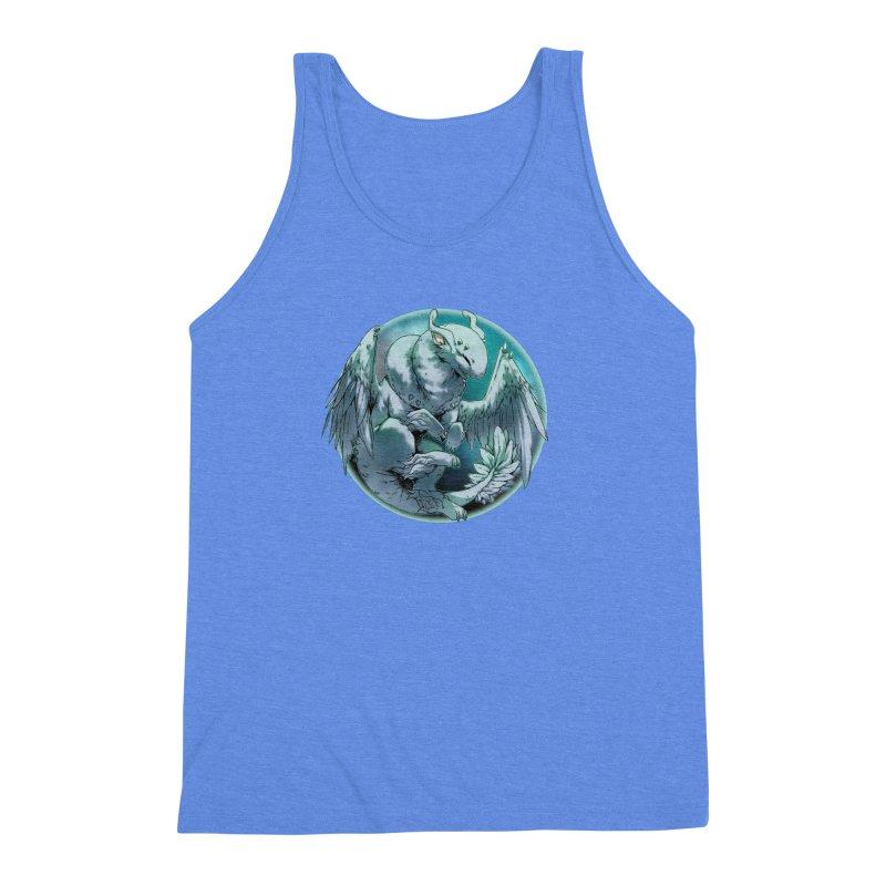 Spearmint Snowglobe Men's Triblend Tank by AdeptGamer's Merchandise