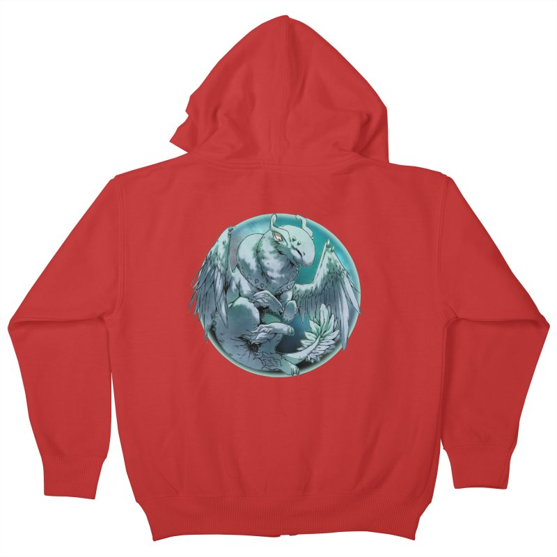 Spearmint Snowglobe Kids Zip-Up Hoody by AdeptGamer's Merchandise
