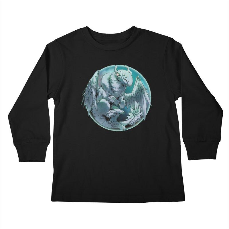 Spearmint Snowglobe Kids Longsleeve T-Shirt by AdeptGamer's Merchandise