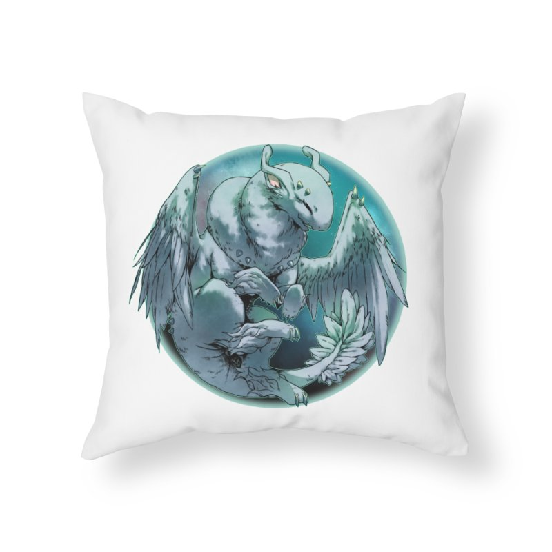 Spearmint Snowglobe Home Throw Pillow by AdeptGamer's Merchandise