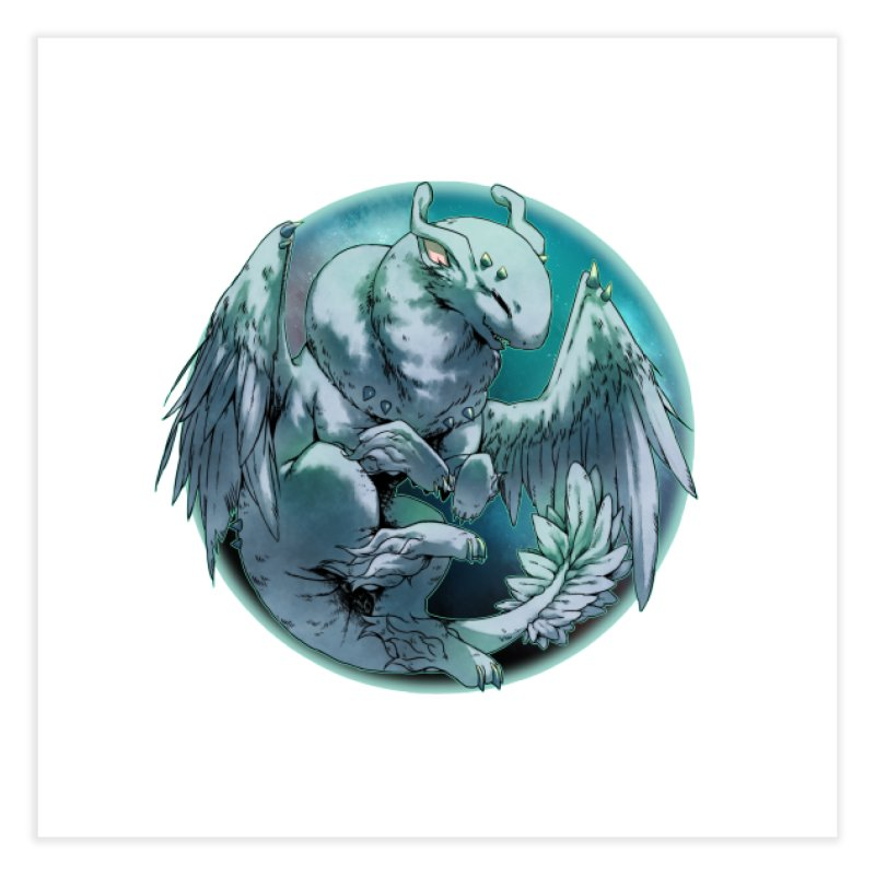 Spearmint Snowglobe Home Fine Art Print by AdeptGamer's Merchandise
