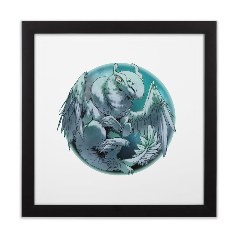 Spearmint Snowglobe Home Framed Fine Art Print by AdeptGamer's Merchandise