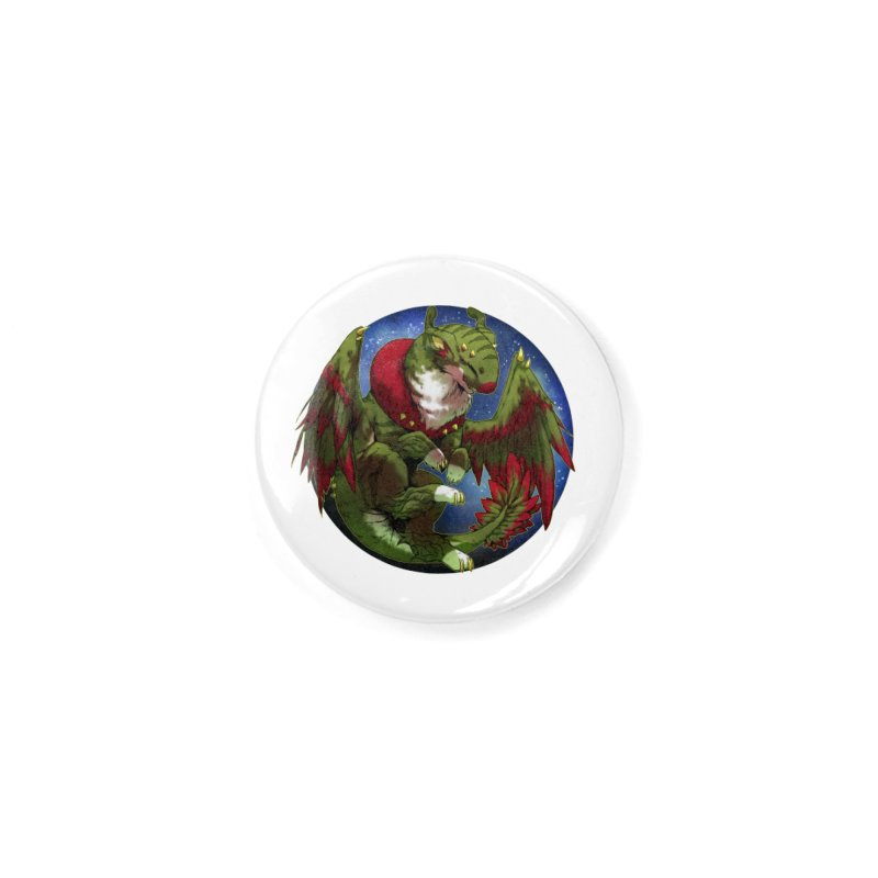 Yuletide Joy Snowglobe Accessories Button by AdeptGamer's Merchandise
