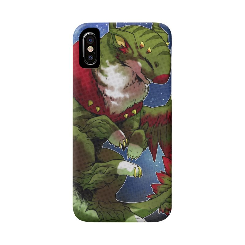 Yuletide Joy Snowglobe Accessories Phone Case by AdeptGamer's Merchandise
