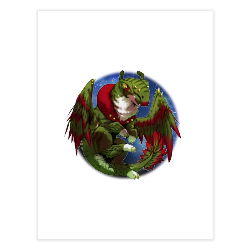 Yuletide Joy Snowglobe Home Fine Art Print by AdeptGamer's Merchandise