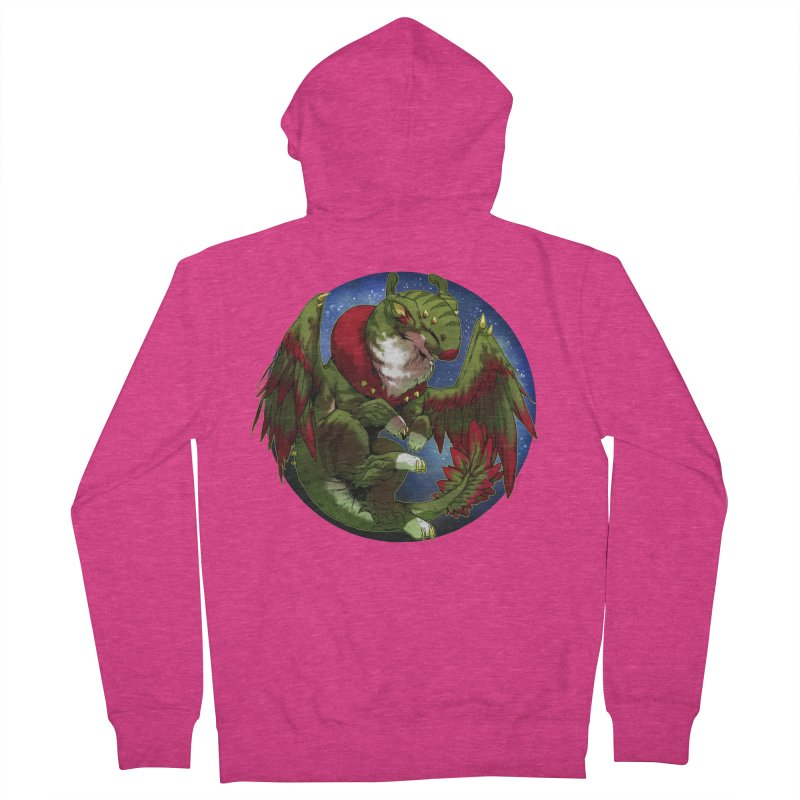 Yuletide Joy Snowglobe Women's French Terry Zip-Up Hoody by AdeptGamer's Merchandise