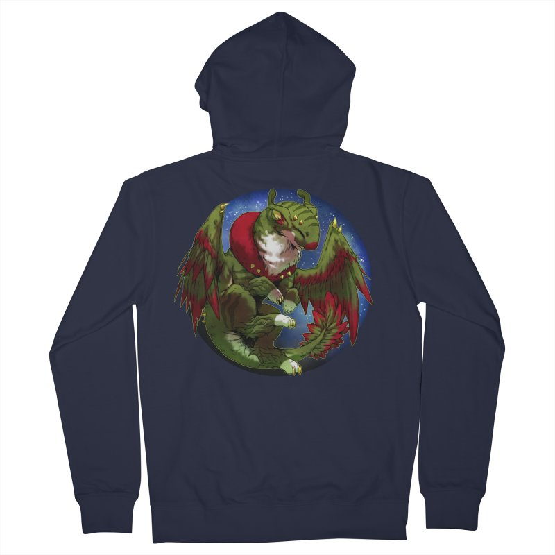 Yuletide Joy Snowglobe Women's Zip-Up Hoody by AdeptGamer's Merchandise